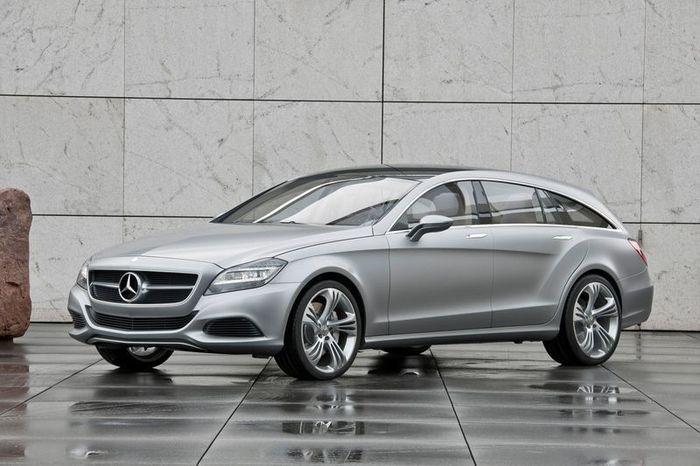 Mercedes-Benz CLS Shooting Brake появится в 2012 году (34 фото)