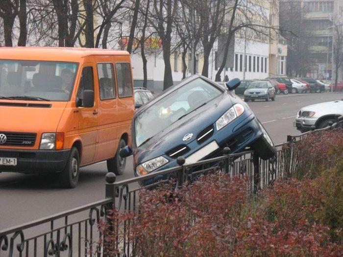 Правила вертикальной парковки (3 фото)
