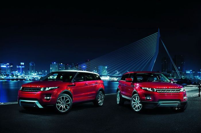 Range Rover Evoque готовится к выпуску (20 фото)