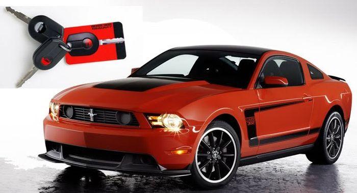 Ford Mustang получит отдельный ключ для трек-дней (72 фото)