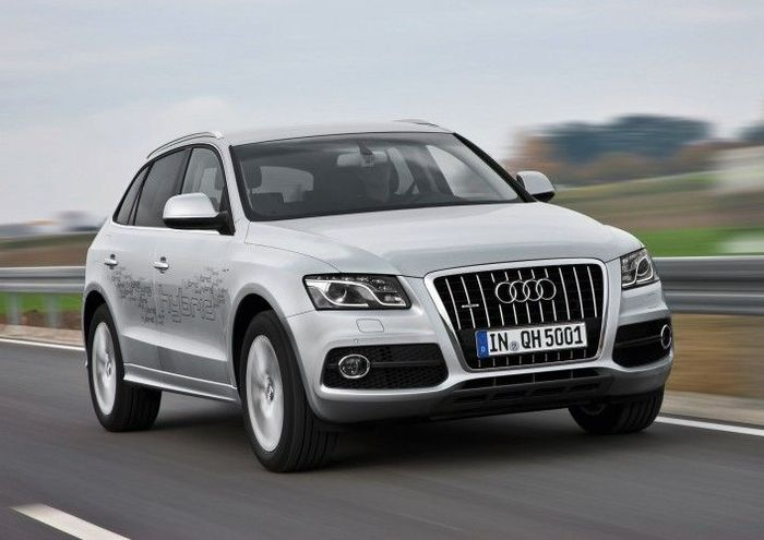 Подробности о гибриде от Audi - кроссовере Q5 (17 фото+2 видео)