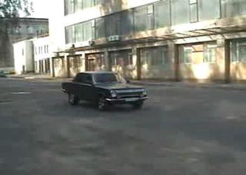 Газ-24 с мотором V8 от Газ 53