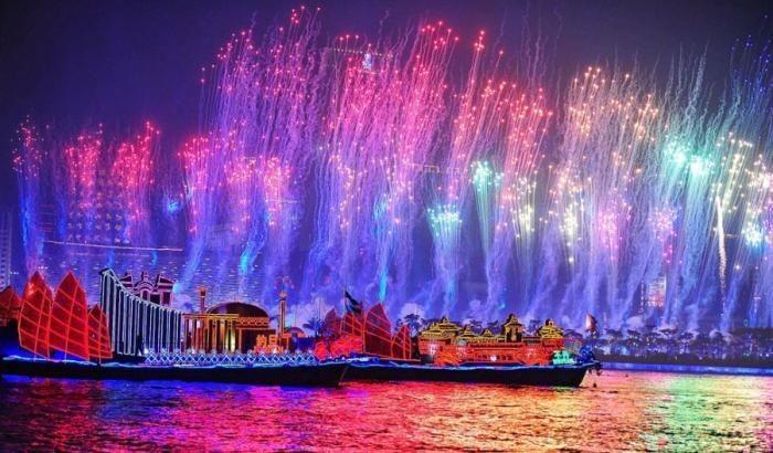 Репетиция открытия Азиатских игр (38 фото)