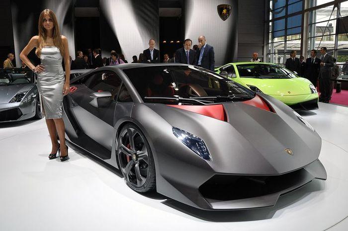 Lamborghini Sesto Elemento - Шестой элемент (65 фото)