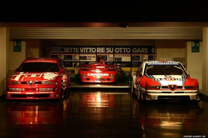 Исторический музей Alfa Romeo (113 фото)