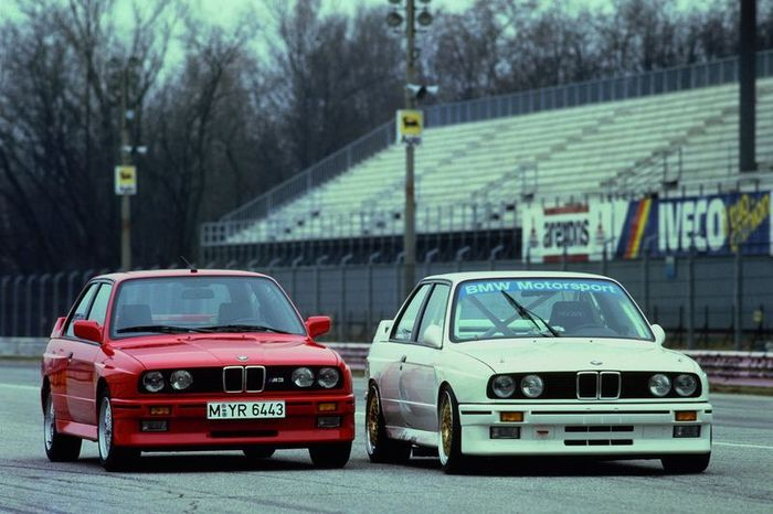А какой ваш любимый спортивный авто 80-х? (65 фото)