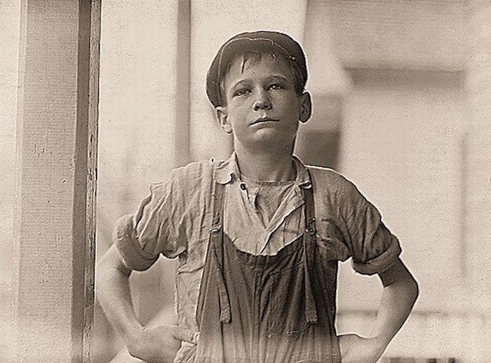 Детский труд в Америке (69 фото)