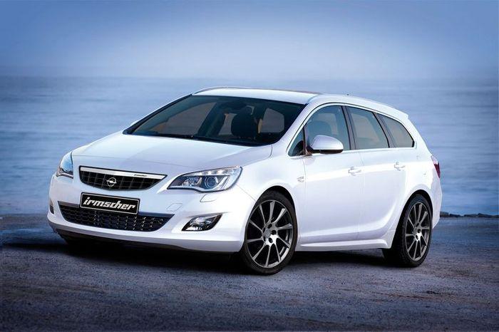 Irmcher подготовили новый обвес для Opel Astra Sports Tourer (4 фото)