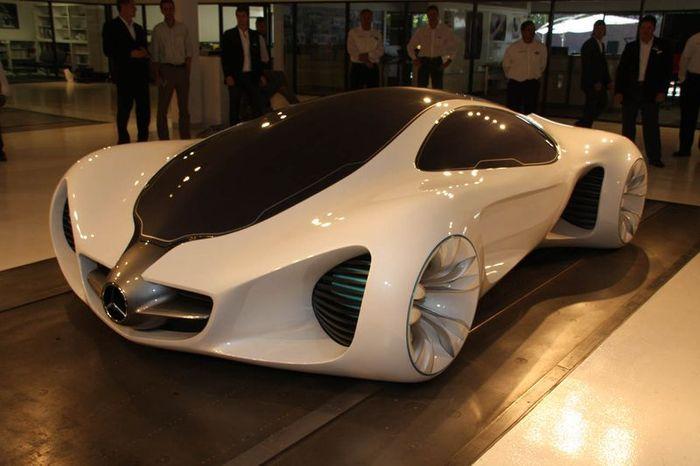 Сверхлегкий концепт из биоволокна от Mercedes-Benz (33 фото)