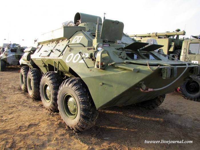 20-я мотострелковая бригада. Боевая техника (98 фото)