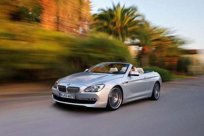Новый кабриолет BMW 6-series Cabrio 2012 (13 фото)