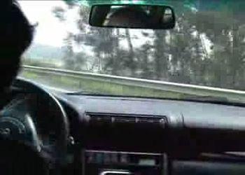 Удержал автомобиль в заносе на 150 км/ч