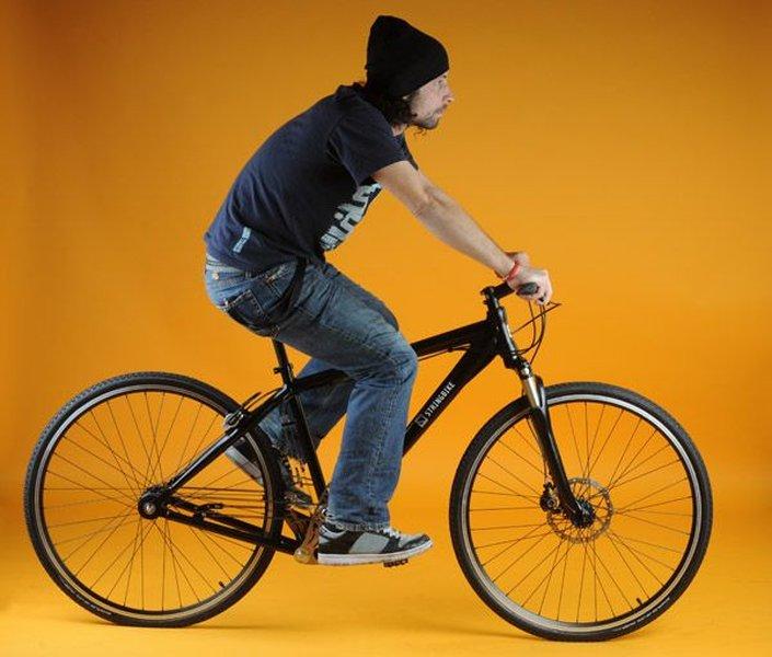 Stringbike - велосипед без цепи (4 фото + 2 видео)