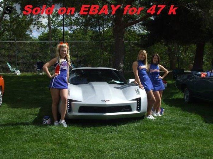Еще до старта продаж нового Corvette, в интернете появились