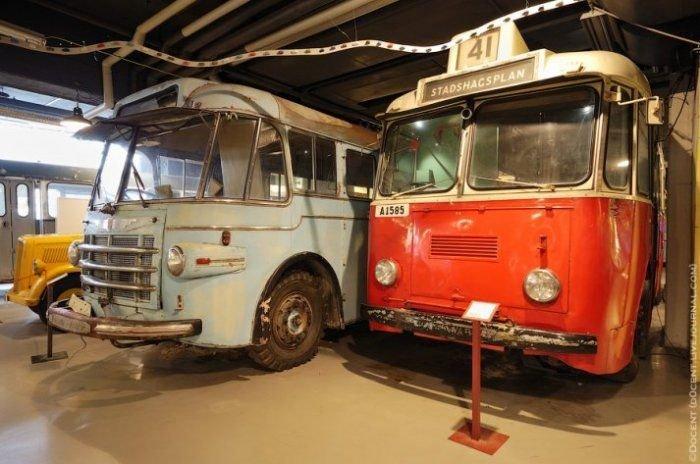 Стокгольмский музей городского транспорта (56 фото)