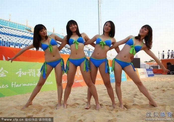 Азиатская группа поддержки (18 фото)