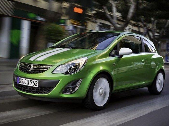 Первые подробности об обновленном Opel Corsa (8 фото)
