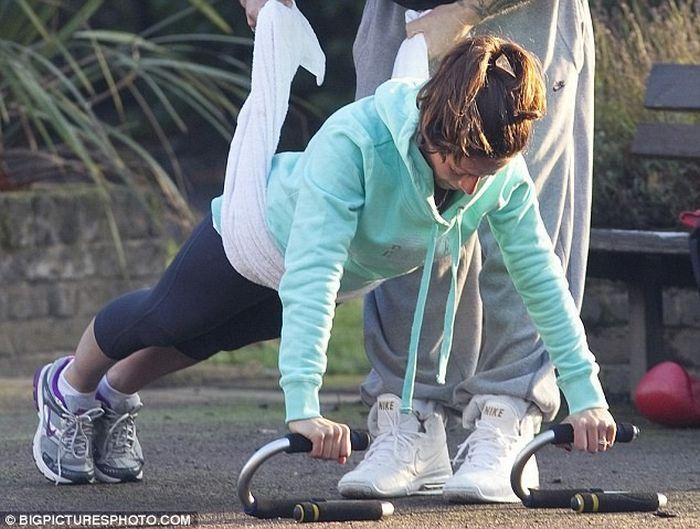 Известная английская телеведущая Клэр Насир похудела на 15 кг! (10 фото)