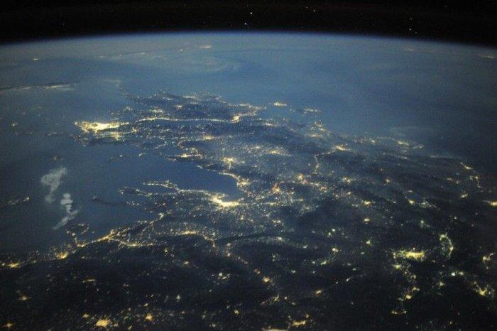 Невероятные фото из космоса астронавта Дугласа Уилока (29 фото)