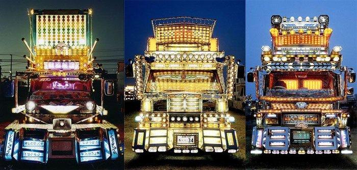 Тюнинг по-японски: грузовики Декотора (13 фото)