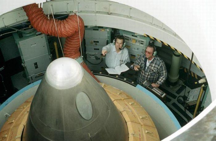 Шахта ядерных ракет (45 фото)