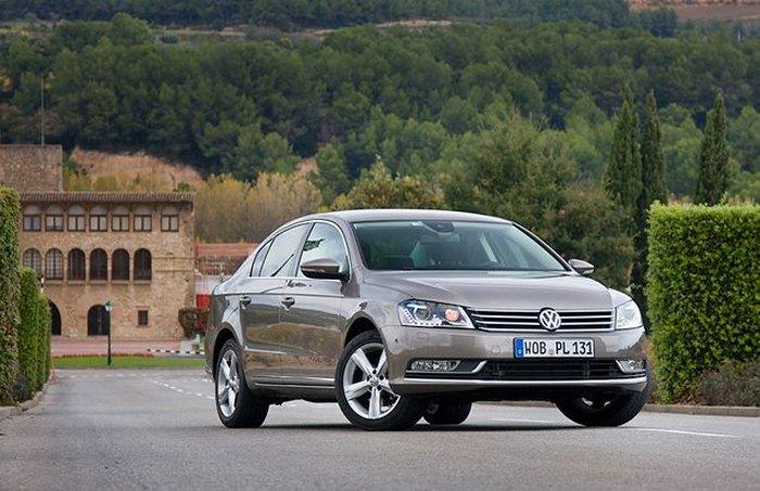 Седьмое поколение Volkswagen Passat (11 фото)