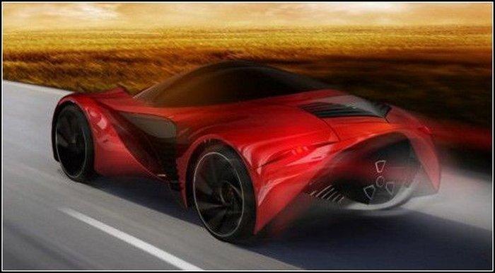 Ariel Atom – концепт автомобиля с ядерным реактором (5 фото)