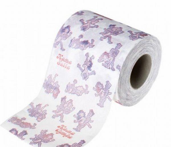 Туалетная бумага - камасутра