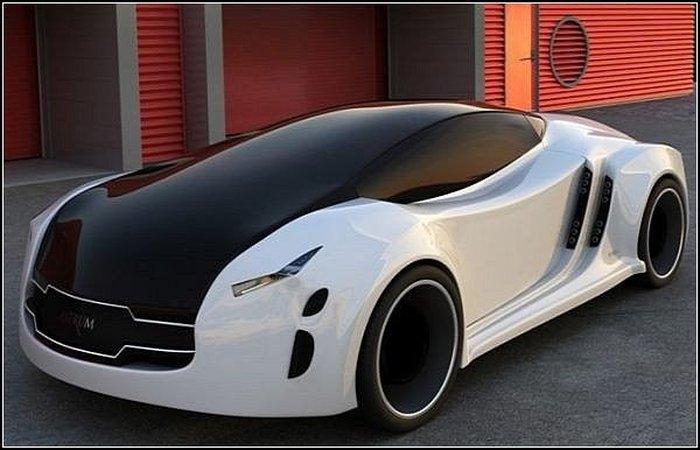 Концептуальный Astrum Meera: автомобиль с магнитной левитацией (7 фото)