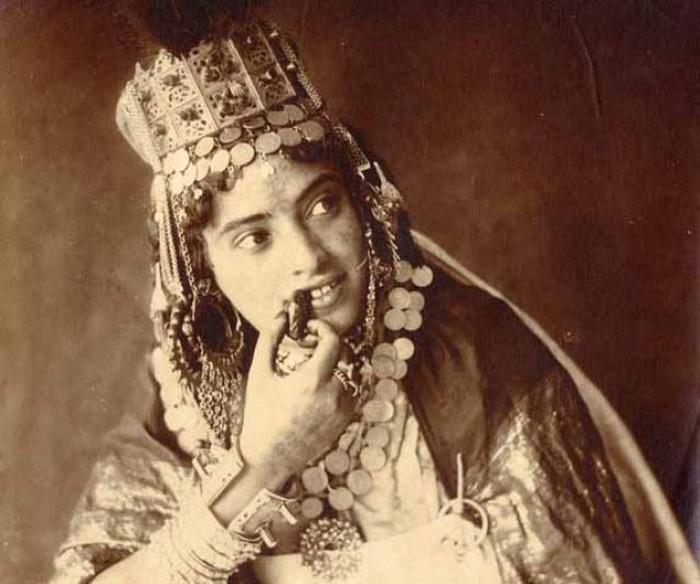 Старые фотографии женщин Северной Африки (28 фото)