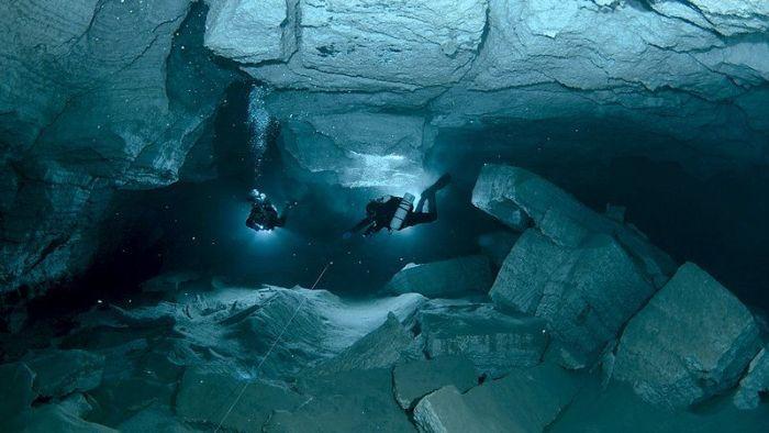 Красоты Ординской пещеры (23 фото)