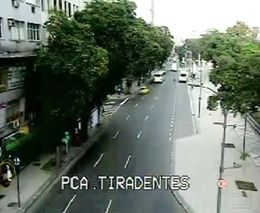 Сильный взрыв в Рио