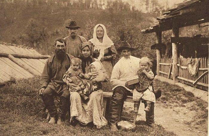 Старые фото - Быт Енисейской губернии конца XIX − начала XX века (38 фото)