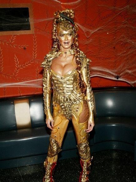 Хайди Клум - звезда Halloween (18 фото)