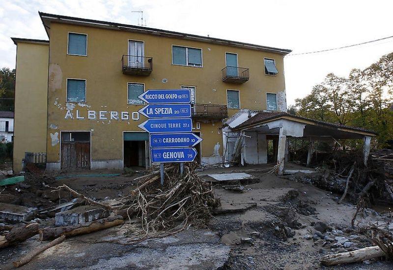 italy03 Наводнение в северо западной Италии