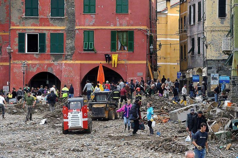 italy07 Наводнение в северо западной Италии