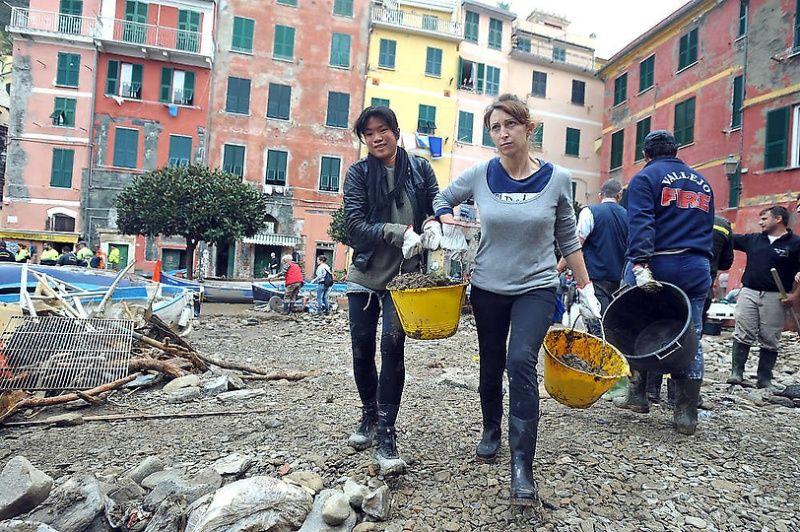 italy09 Наводнение в северо западной Италии