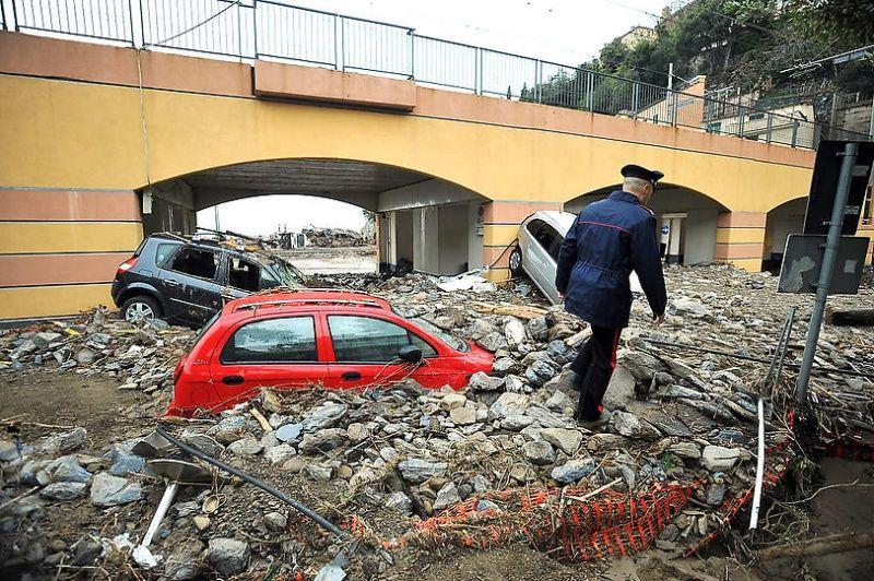 italy13 Наводнение в северо западной Италии
