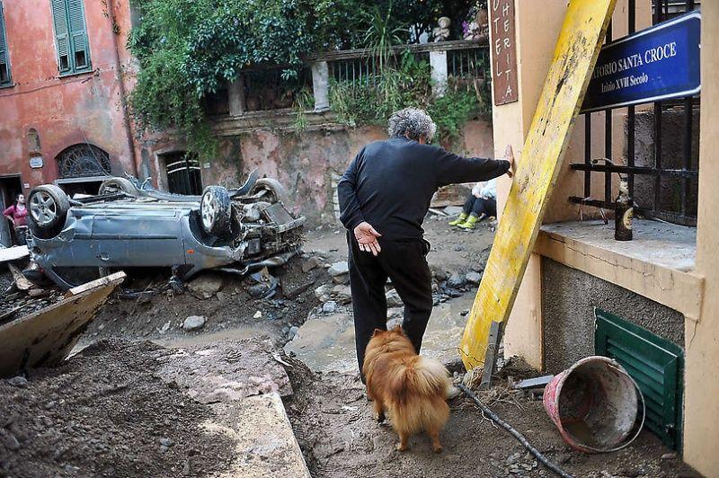 italy16 Наводнение в северо западной Италии