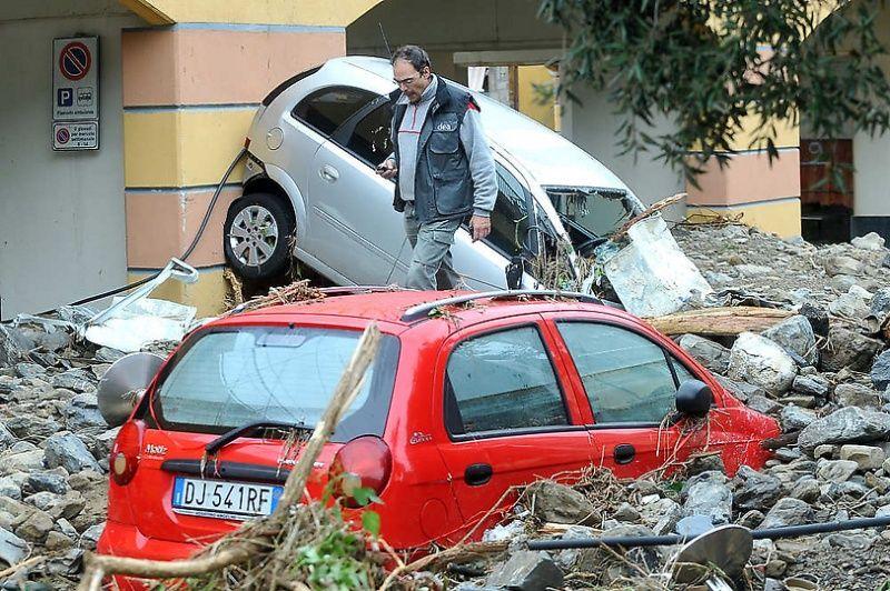 italy18 Наводнение в северо западной Италии