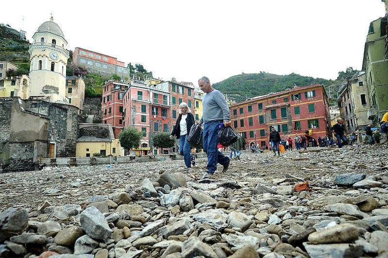 italy26 Наводнение в северо западной Италии
