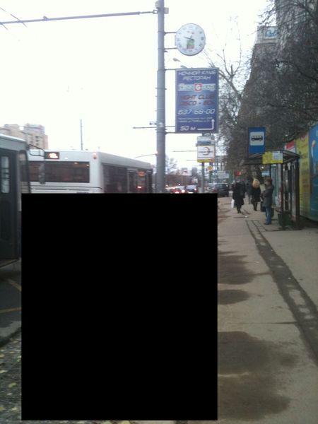 Непонятная стройка на Ленинградском проспекте (2 фото)