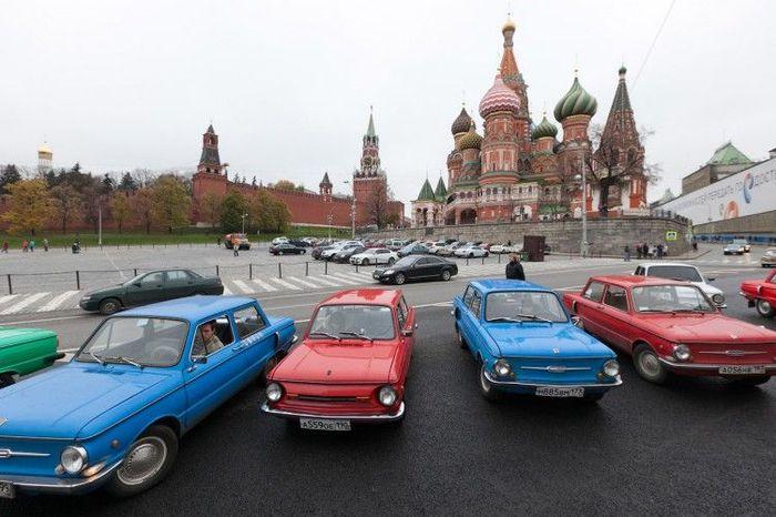 В Москве прошел пробег ЗапорожцевЪ (44 фото)