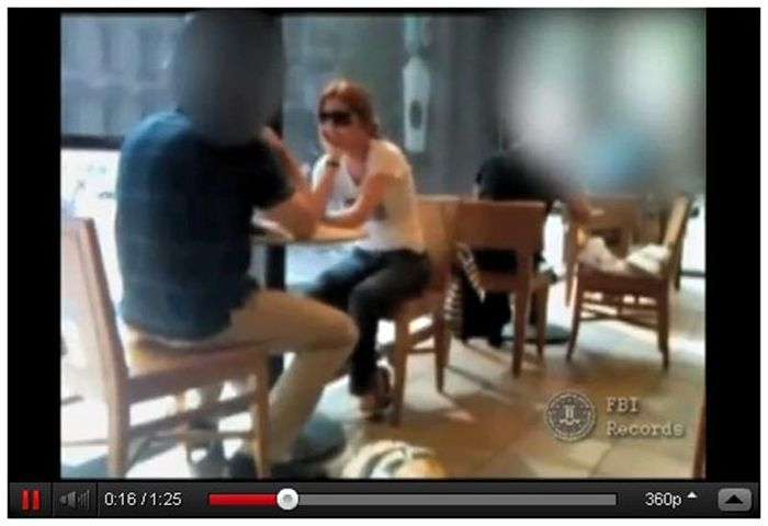 ФБР опубликовали видео с Анной Чапман (19 фото)