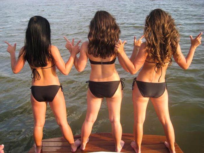Девушки черлидеры в бикини (78 фото)