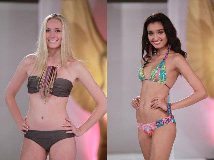 Конкурсантки Мисс Мира 2011 в купальниках ... (50 фото)