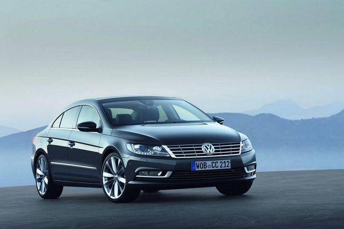 Volkswagen Passat CC получил рестайлинг (24 фото)