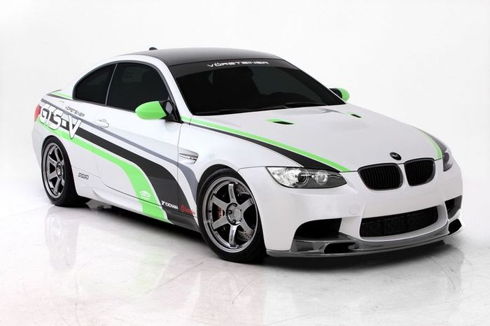 Ателье Vorsteiner представило свой пакет тюнинга для BMW M3 (15 фото)