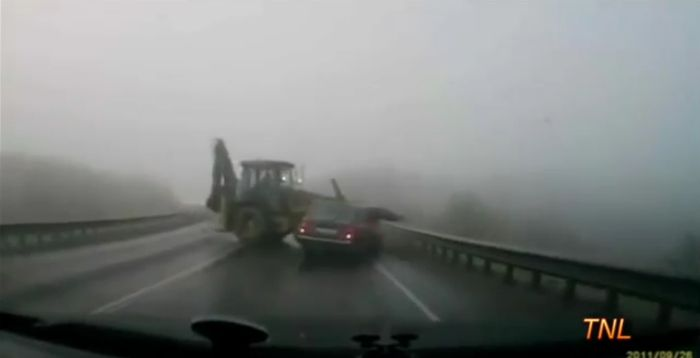 Видео подборка аварий на российских дорогах. Часть 5 (видео)