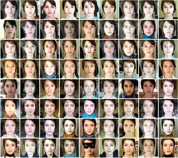 500 фотографий в одной  (41 фото)